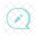 Review Write Message Icon
