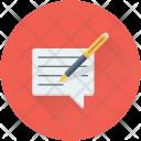 Write Message Icon