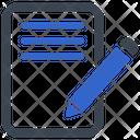 Edit Write Blogging Icon