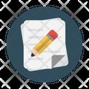 Write notes Icon