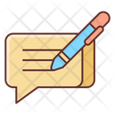 Write Review Icon