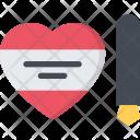 Write Valentine Couple Icon