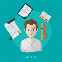 Writer Human Profession Icon