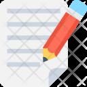 Text Pencil Sheet Icon