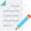 Content Writing Paper Icon