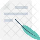 Writing Quill Pen Icon