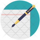 Writing Composition Authorship Icon