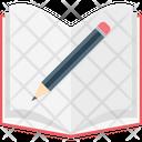 Pencil Notebook Sheet Icon