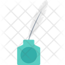 Writing Feather Pen Quill Pen Icon