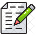 Drafting Writing Note Icon