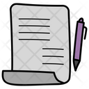 Writing Writing Tool Education Icon