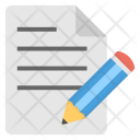 Writing Composition Authorship Icon