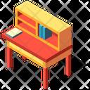 Writing Desk Classroom Icon