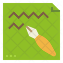 Writing Journal Sign Icon