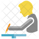 Writing Exam Student Icon