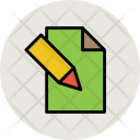 Writing Paper Note Icon