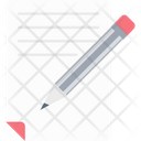 Writing Article Script Writing Pen Icon