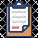 Checklist Content Paper Icon