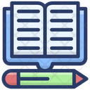 Workbook Writing Book Copywriting Icon