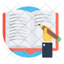 Writing Book Workbook Creative Writing Icon