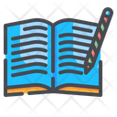 Writing Book Writing Book Icon