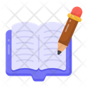 Writing Book Novel Writing Creative Writing Icon