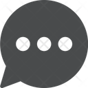 Writing Chat Icon