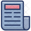 Writing Document Icon