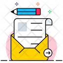 Writing Email Icon