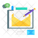 Writing Emails Icon