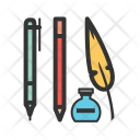 Writing Equipment Stationery Icon