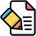Writing File Icon