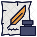 Memoirs History Note Icon