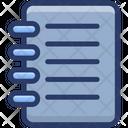 Writing Notepad Icon