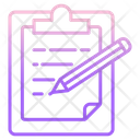 Writing Notes Icon