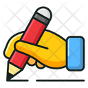 Pencil Writing Tool Student Accessory Icon