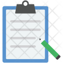 Writing Sheet Icon