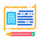 Written Building Information Icon
