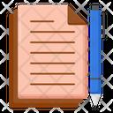 Written Documents Icon