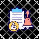 Employer Notification Notify Icon