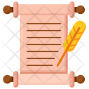 Written Recorded History Icon