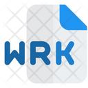 Wrk File Audio File Audio Format Icon