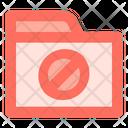 Wrong Folder Data Icon