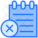 Wrong List File List Icon