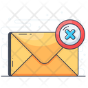Wrong Mail Icon