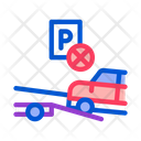 Car Parking Wrong Icon