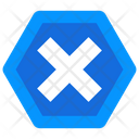 Wrong Sign Cross Mark Close Button Icon