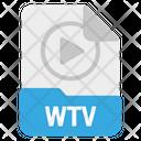 File Wtv Format Icon