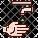 Wudhu Ablution Clean Icon