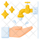 Wudhu Ablution Washing Icon
